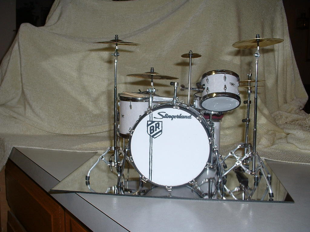 Buddy Rich Mini Drum Set Front